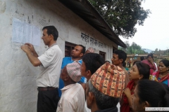 sharing_targeted_beneficiaries_names_at_gyachok_vdc_gorkha
